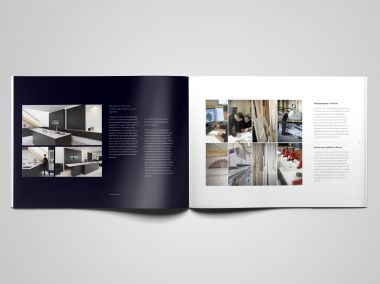 Website en brochure Thonon